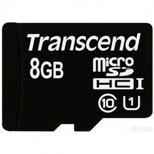 SECURE DIGITAL CARD MICRO  8GB (Class  4)  TRANSCEND (TS8GUSDC4)