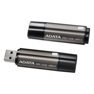 USB Stick ADATA S102 Pro 64GB USB 3.0, Grey (AS102P-64G-RGY)