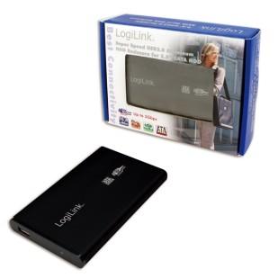 "HDD Enclosure 2.5"" SATA Logilink USB 3.0, aluminiu, Black (UA0106)"