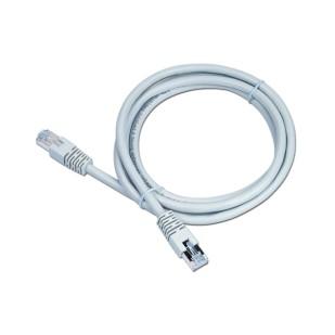 Cablu UTP Patch cord cat. 6, conectori 2x 8P8C, lungime cablu: 2m, bulk, Alb, GEMBIRD (PP6-2M)