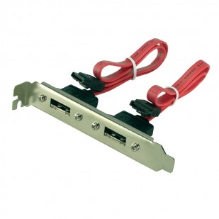 e-SATA Bracket 2 Port, 0,5m  (CS0006)