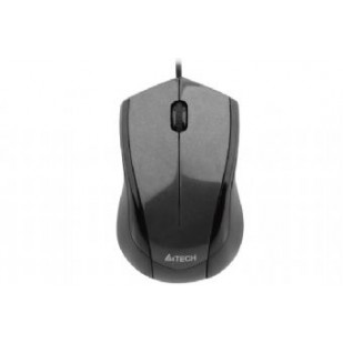 Mouse Optic USB A4TECH V-Track (N-400-1), wired cu 3 butoane si 1 rotita scroll, rezolutie 1000-2000dpi si cablu 150cm, Negru