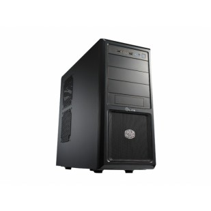 CARCASA COOLER MASTER  Elite 370, mid-tower, ATX, 1* 120mm fan (inclus), I/O panel, black (RC-370-KKN1)