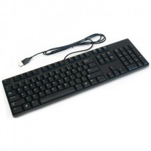 Tastatura DELL layout CZE NEGRU USB