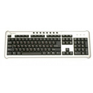 Tastatura GEMBIRD; model: KB-314M; layout: US; NEGRU; USB; MULTIMEDIA