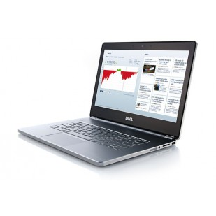 Laptop DELL, INSPIRON 7437, Intel Core i7-4510U, 1.8 GHz, HDD: 500 GB, RAM: 8 GB, video: Intel HD Graphics 4400,  webcam,  BT