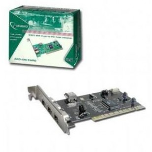 GEMBIRD Adapter: PCI to 3 x FIREWIRE-6p F; FWP-3PC-R""""