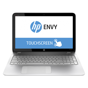 "Laptop HP Envy 15, J1H35AAR#ABA-Y57B, Intel Core i7-4710HQ 2.5GHz, 8GB, 1TB, 15.6"" HD TouchScreen, Intel Graphics, DVDRW, 802.11 bgn, Cam+Mic, Win 8.1, factory refurbished"