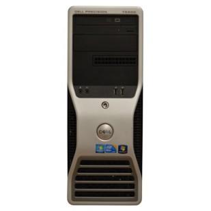 Dell, PRECISION WORKSTATION T5500, 2x  Intel Xeon E5620, 2.40 GHz, video: nVIDIA Quadro FX 1800; TOWER