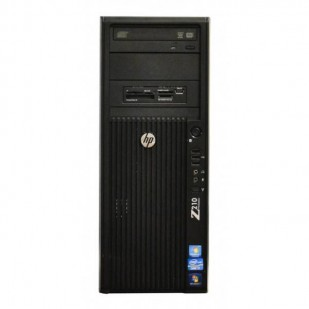 HP Z210 WORKSTATION, Intel Xeon E3-1230, 3.20 GHz, HDD: 250 GB, RAM: 8 GB, unitate optica: DVD, video: nVIDIA Quadro NVS 295
