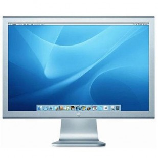 "MONITOR APPLE; model: CINEMA HD A1083; 30""; WIDE; SH"
