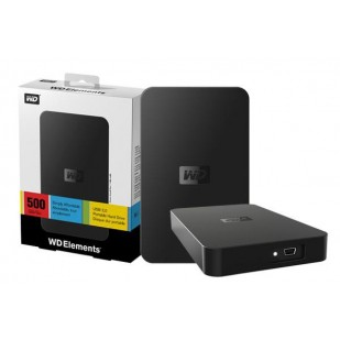"HDD EXTERN WD  ; model: ELEMENTS ; 500 GB ; 2.5"" ; USB 3.0"
