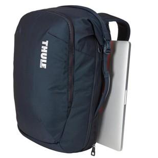 Rucsac urban cu compartiment laptop Thule Subterra Travel Backpack 34L Mineral