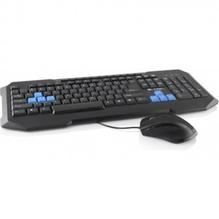 Kit Tastatura + Mouse LOGIC; model: LKM-200; layout: US; NEGRU; USB;