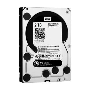 HDD 2TB 7200 64MB S-ATA3  WD BLACK (WD2003FZEX )