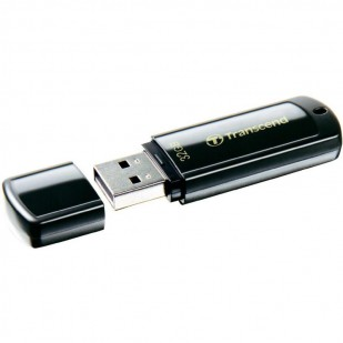 USB 2.0  32GB TRANSCEND JetFlash 350 Black (TS32GJF350)