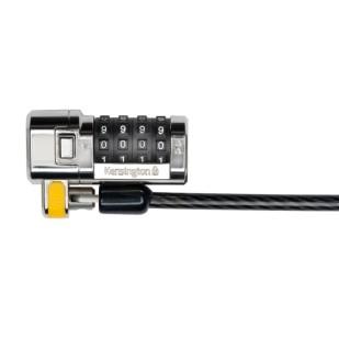 Cablu securitate Kensington ClickSafe, cifru cu patru discuri, otel, 1.83 m lungime (K64697EU)