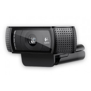 "CAMERA WEB Logitech Webcam C920,HD PRO 1920x1080, 15MP Sensor, Microfon, Carl Zeiss lens, USB 2.0 ""960-001055""  (include timbru verde 0.01 lei)"