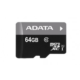 Secure Digital Card micro SDHC 64GB class 10 ADATA (AUSDX64GUICL10-R)