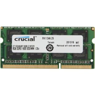 8192 MB; DD-RAM 3; CRUCIAL; memorie RAM LAPTOP