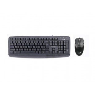 Kit Tastatura + Mouse GENIUS; model: KM-110X; layout: US; BLACK; USB