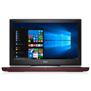 Laptop DELL, INSPIRON 7566, Intel Core i7-6700HQ, 2.60 GHz, HDD: 1 TB, RAM: 8 GB, video: Intel HD Graphics 530, nVIDIA GeForce GTX 960M, webcam