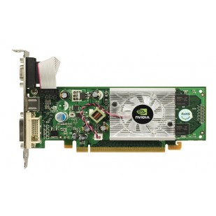 Placa video: NVIDIA GeForce 8400GS; 256 MB; PCI-E 16X; 1 x DVI-D F; 1 x SVIDEO; 1 x VGA;