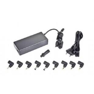 Alimentator Notebook Universal, tensiune intrare 100-240V 50-60 Hz si iesire: 15V-20 V max.4.5A, putere 90W, protectie supraincarcare si scurt-circuit, lungime cablu: 1.2m, Negru, GEMBIRD (NPA-AC1D)