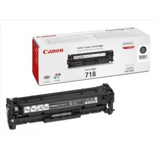Toner Original pentru Canon Negru CRG-718B, compatibil LBP7200CDN, 3400pag (CR2662B002AA)