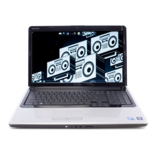 Inspiron 1750; Mobile DualCore Intel Pentium T4300, 2100 MHz; 4 GB RAM; 320 GB HDD; No devices found; DVDRW; Portable