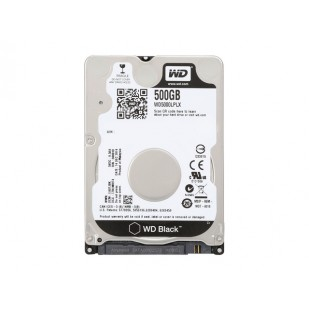 HDD 500 GB; S-ATA 3; 7200 RPM; 32 MB BUFFER; WESTERN DIGITAL; WD5000LPLX; NOU