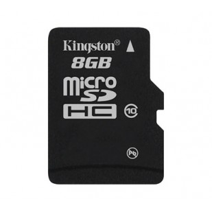 MICRO SD CARD KINGSTON; model: SDC10/8GB