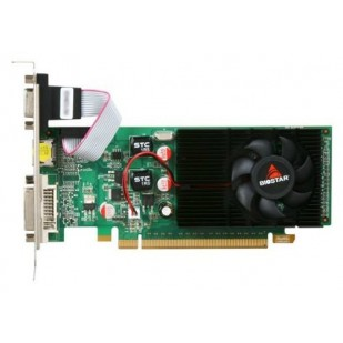 Placa video BIOSTAR 1024 MB; GDDR3; 64 bit; PCI-E 16x; NVIDIA GeForce 210; VGA; DVI; HDMI