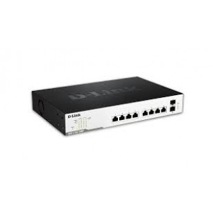 "PoE (Power Over Ethernet) Switch Smart  10-port-uri PoE Gigabit. D-Link ""DGS-1100-10MP"""