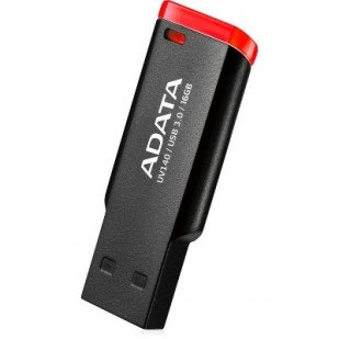 USB 3.0 64GB ADATA   UV140 Black&Red (AUV140-64G-RKD)