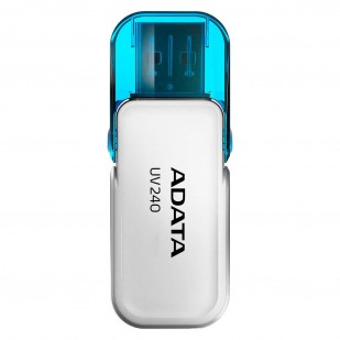 "USB 2.0 16GB ADATA UV240 White ""AUV240-16G-RWH"" (include timbru verde 0.01 lei)"