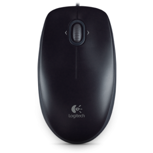 Mouse LOGITECH; model: B100; NEGRU; USB