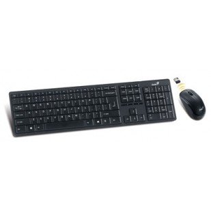 "Kit tastatura+mouse Wireless GENIUS ""SLIMSTAR 8000ME"", 2.4GHz, Plug&Play (31340045105)"