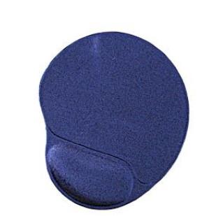 Mouse Pad gel cu wristpad confortabil, din PVC, dimensiuni: 260x220mm, grosime 3mm, Albastru, GEMBIRD (MP-GEL/40)