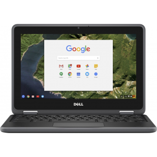 "Laptop DELL,  Chromebook 11 3180, Intel Celeron N3060, 1.6 GHz, HDD: 16 GB, RAM: 4 GB, video: Intel HD Graphics, 11.6"" HD"