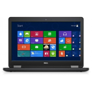Laptop DELL, LATITUDE E5550,  Intel Core i5-5200U, 2.20 GHz, HDD: 500 GB, RAM: 4 GB, video: Intel HD Graphics 5500, webcam