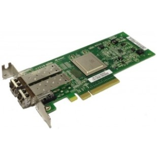 Dell QLogic QLE2562L 8GB Dual Port FC HBA PCI-e + SFP