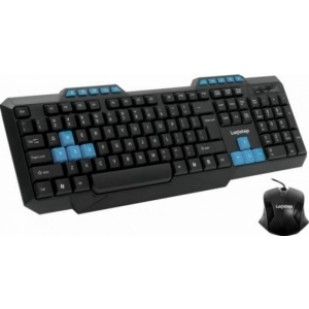 "WIRELESS KIT LogiStep QWERTY keyboard + optical mouse combo, 2.4GHz, Plug&Play ""LSDK-0011"""