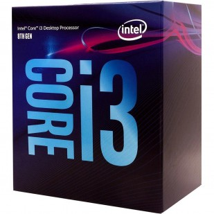 "CPU INTEL skt. 1151  Core i3 Ci3-8100, 3.6GHz, 6MB   ""BX80684I38100"""
