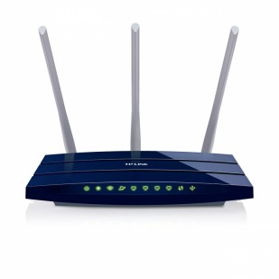 Router 4 Port-uri Wireless N Gigabit 300Mb/s TL-WR1043ND 3 antene detasabile