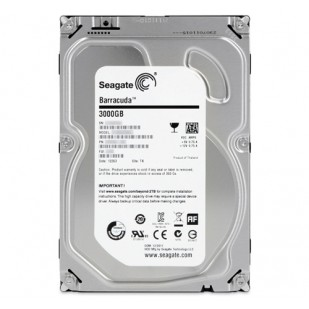 HDD 3000 GB; S-ATA II; 7200 RPM; 16 MB BUFFER; NOU
