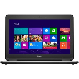 Laptop DELL, LATITUDE E7250, Intel Core i5-5300U, 2.30 GHz, HDD: 128 GB, RAM: 4 GB, video: Intel HD Graphics 5500, webcam