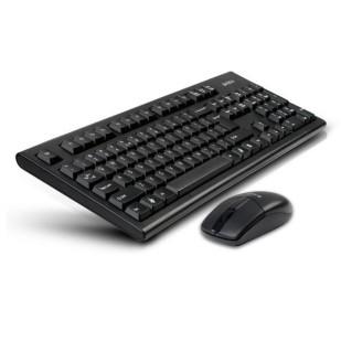 Tastatura + Mouse A4TECH 3100N; NEGRU