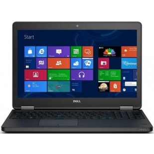 Laptop DELL, LATITUDE E5550,  Intel Core i3, 2.10 GHz, HDD: 500 GB, RAM: 4 GB, video: Intel HD Graphics 5500, webcam, BT, fingerprint