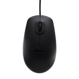Genuine DELL USB Black Optical Scroll Mouse MS111